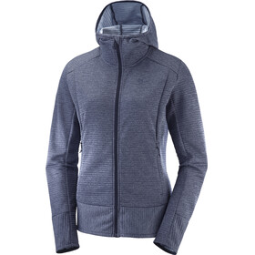 Salomon Right Nice Midlayer Dames blauw